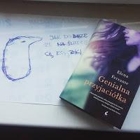 """Pewnego razu w Neapolu… """"Genialna przyjaciółka""""  Elena Ferrante"""