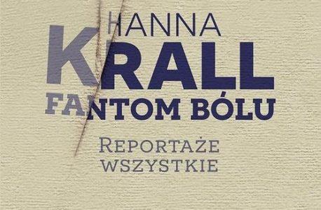 """Im większa rozpacz, ty mniej trzeba zdań.""""Fantom bólu"""" Hanna Krall"""