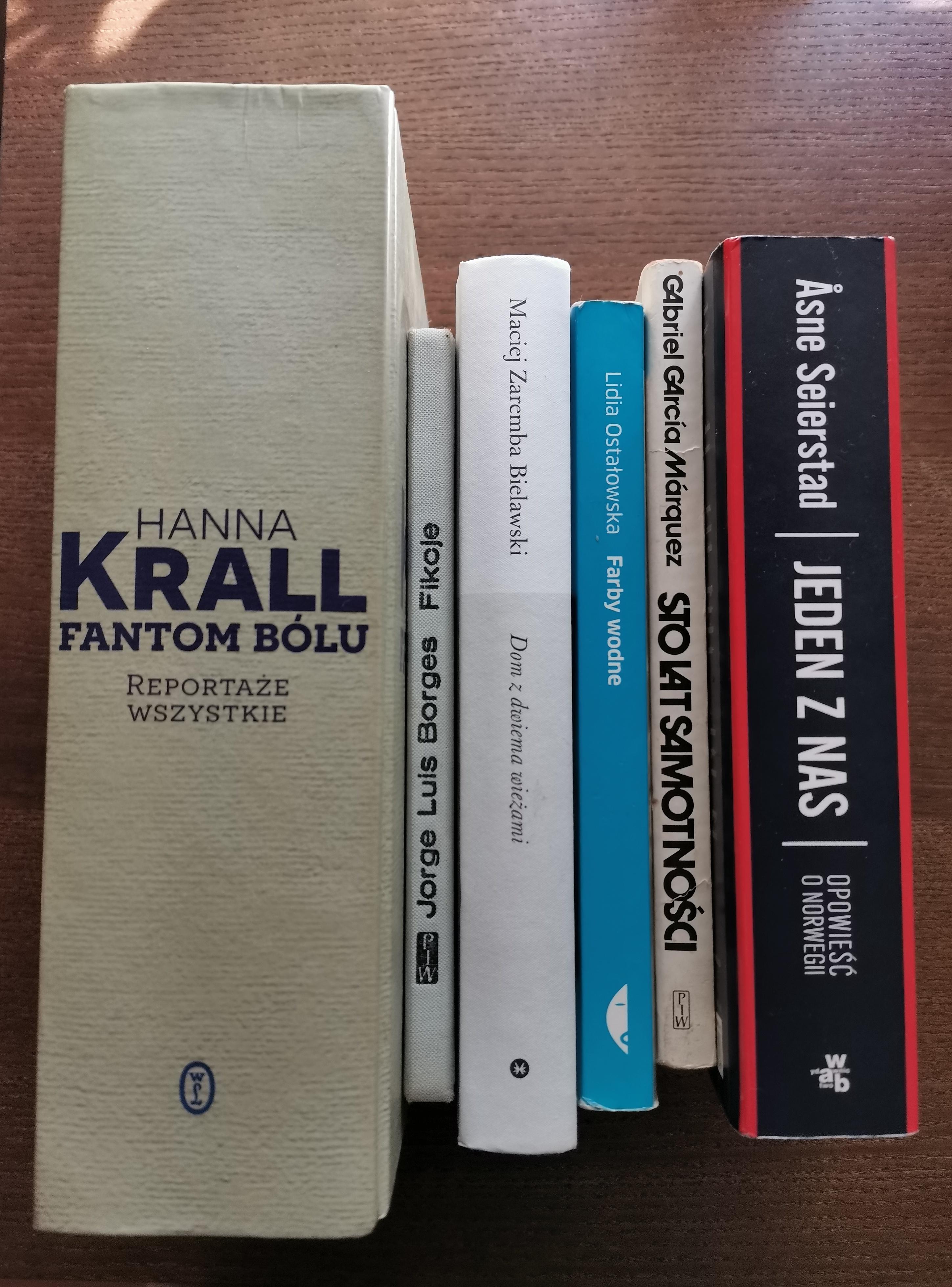 Książki mojego życia (prawie wszystkie). Wpis dla ceniących sobie chaos